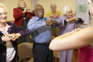 Senior adults in Group Therapy